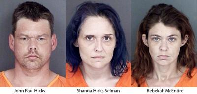 Sheriff: 3 arrested in Cherokee County drug raid
