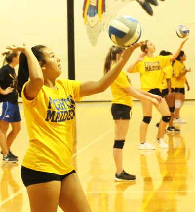 Coach Snider optimistic about Maiden Volleyball's playoff chances