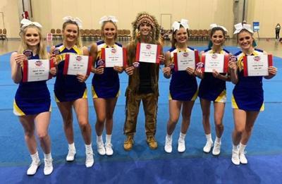 JHS cheerleaders rake in the accolades at NCA cheer camp