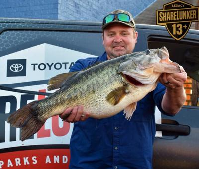 Whoppers! March was a rich month for tournament caught ShareLunkers