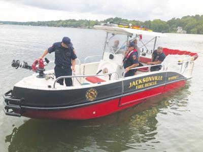 Jacksonville's new fire boat