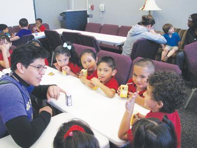 Jacksonville College hosts JISD's smallest students  during recent campus visit