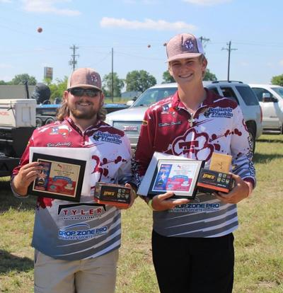 Troup's Lovelady and Dalton finish in 7th place at THSBA regional fishing tourney