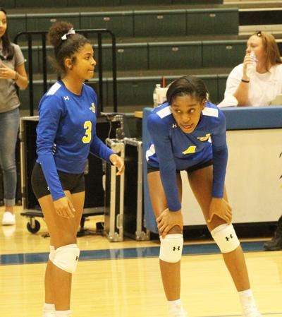 Volleyball: Maidens come up short in Lufkin