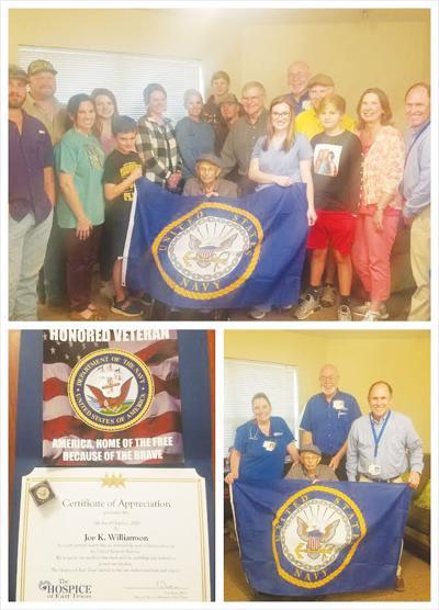 Angelina House veteran recognized