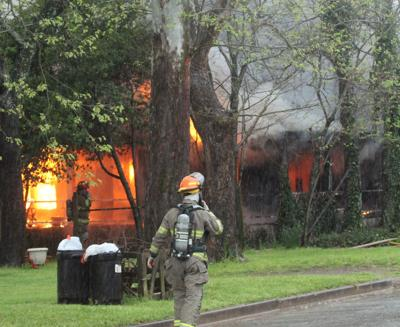 Kickapoo Street home destroyed by fire