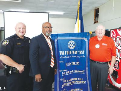 Jacksonville interim police chief talks to Rotary Club
