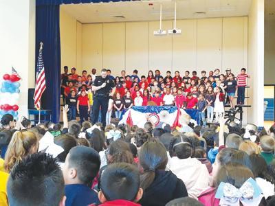 Fred Douglass students honor veterans