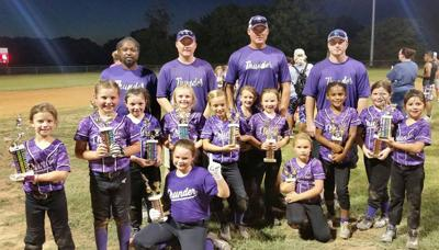 Softball: Troup Thunder still alive in 8U state tourney