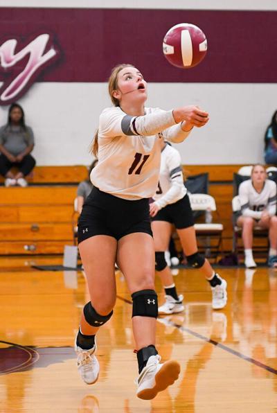 Volleyball: Troup overwhelms Garrison, 3-0