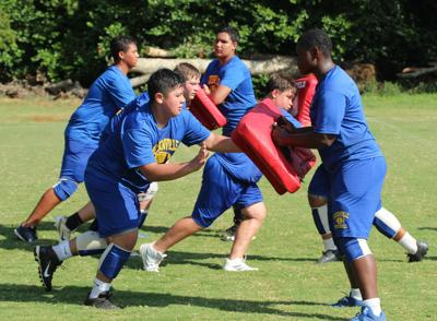 Indian Football opens fall practice