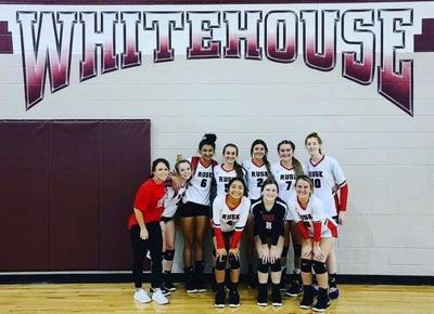 Lady Eagle Volleyball finishes as runner-up in Whitehouse tourney