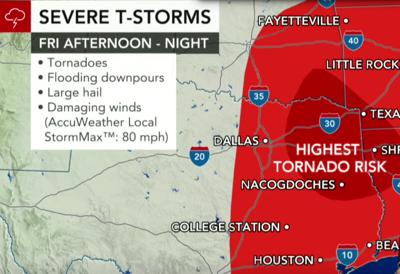 Severe storm arrives in East Texas; take precautions