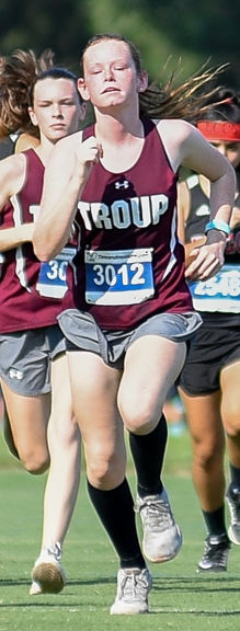 Troup girls win 16-3A cross country championship