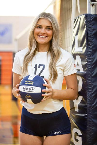 Reed's 15 kills spurs Lady Guard to 3-0 victory over Athens