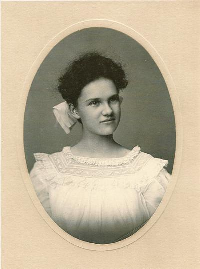 Maydelle as young girl