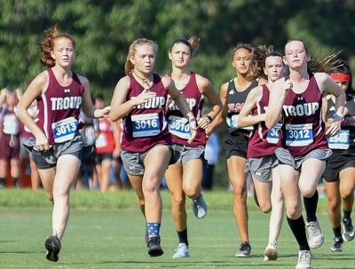 Tyler Lee XC Classic: Jacksonville, Troup girls have success