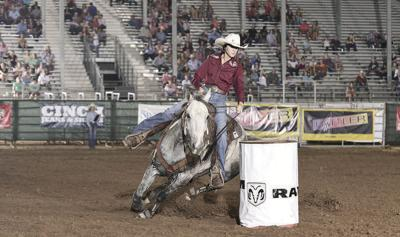 IFYR: Alto cowgirl in first place in pole bending