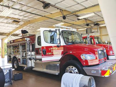 Troup VFD receives new engine