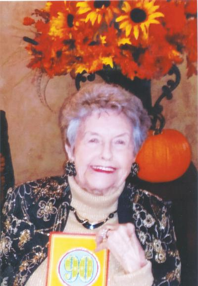 Beasley celebrates 90th birthday