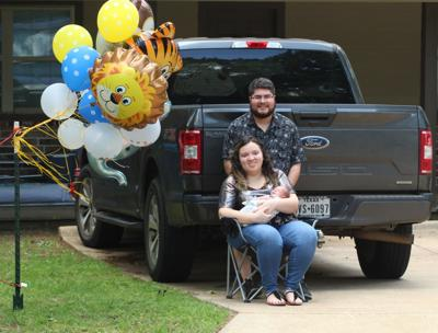 Granger Sanchez welcomed home with a surprise parade