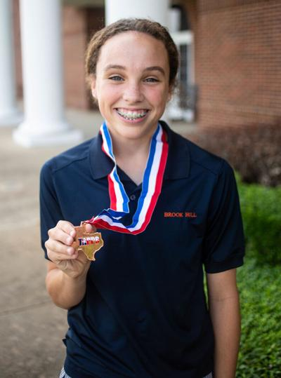Brook Hill Track: Freshman Fitzgerald comes in third in 300 Hurdles at state