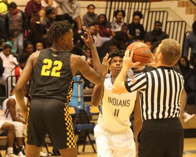 Indians succumb to league-leading Dragons, 61-46