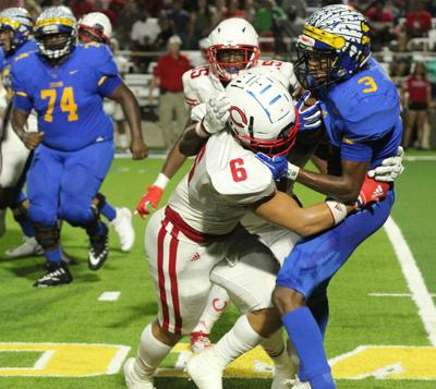 Jacksonville no match for Carthage, 'Dogs win 48-0