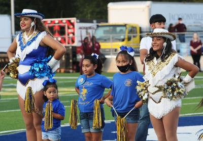 Little Charmers featured in pregame festivities at JHS