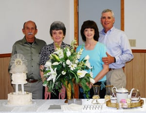 Local couples celebrate anniversaries together