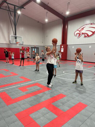 Rusk Lady Eagle Basketball: New 'Gym Rats' program launched