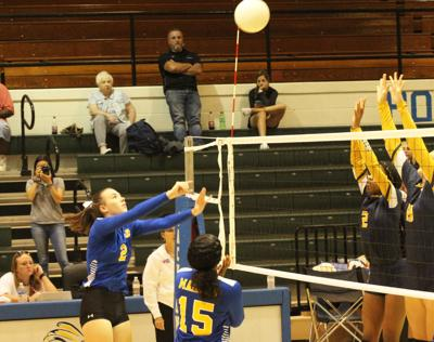 Volleyball: Jacksonville secures first district win