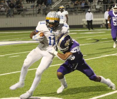 Clater throws 5 TD passes in Jacksonville's 59-44 win over Hallsville