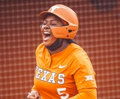 Jordyn Whitaker strokes grand slam in Texas' rout over Texas Tech