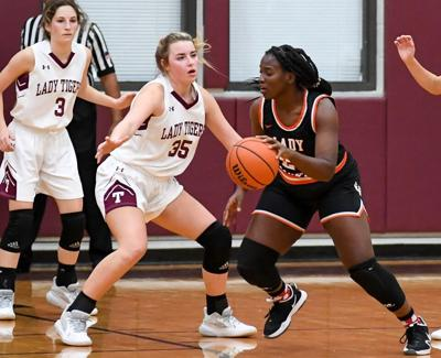 Lady Tigers' late rally falls short