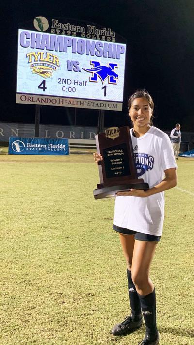 Jacksonville's national champion: Alexia Moreira