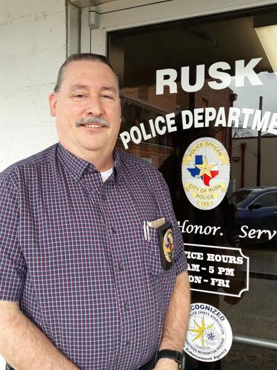 Rusk's interim police chief Stephen Hughes