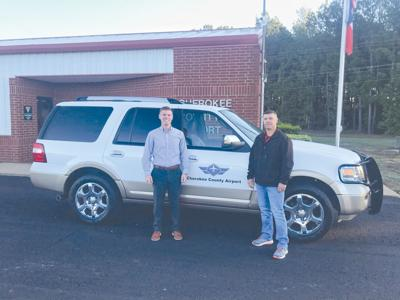 County airport receives courtesy vehicle