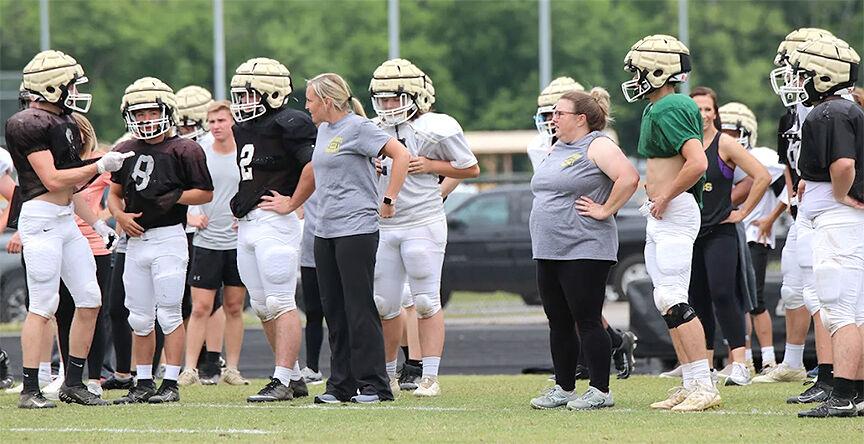 Scottsboro Moms Football Clinic