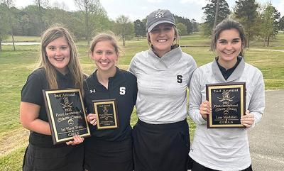 Scottsboro girls golf team