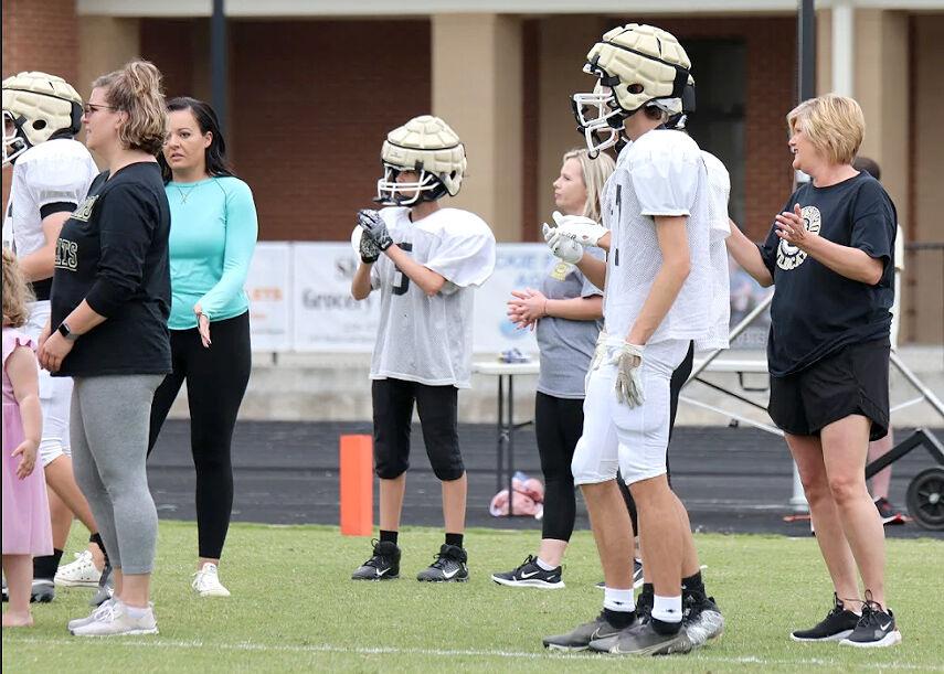 Scottsboro Football Moms Football Clinic