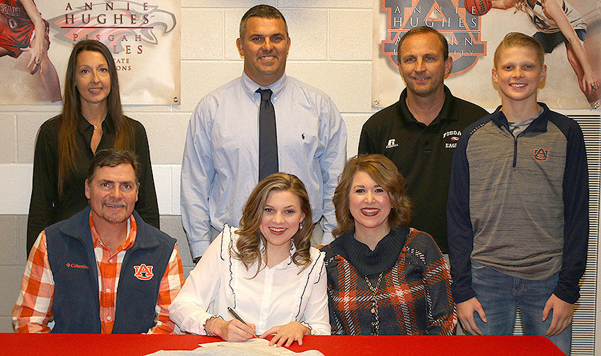 Signing with Auburn
