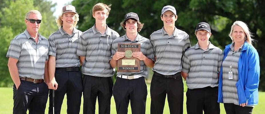 NSM Golf Sub-state champion