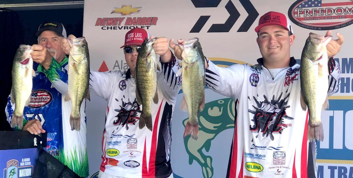 Pisgah anglers win Lake Wheeler Tournament
