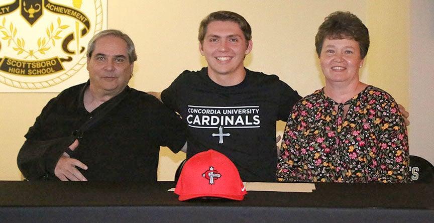 Webb signs with Concordia