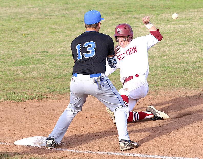 Safe at third base