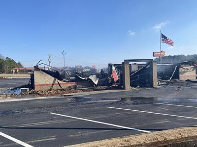 FIRE AT HARDEE'S