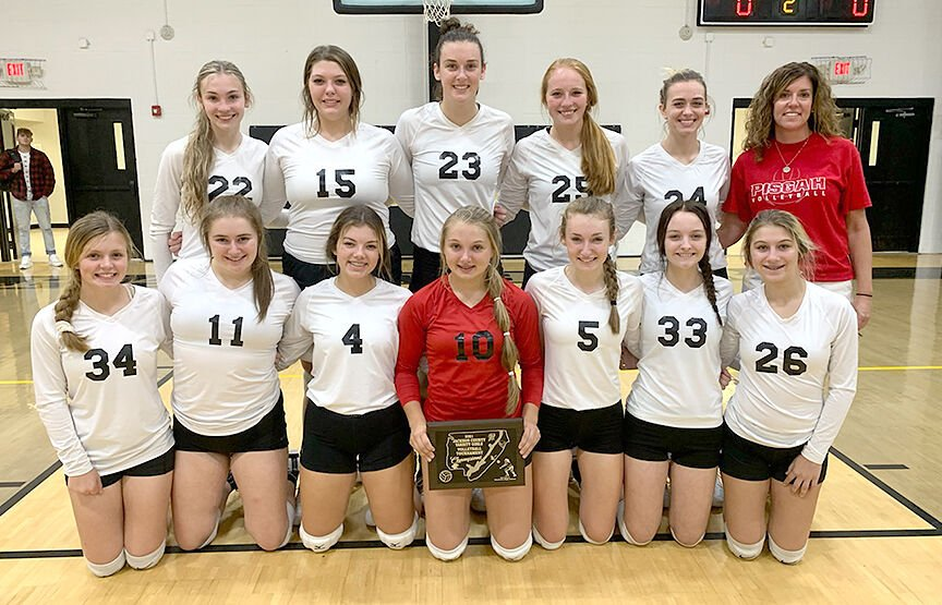 Pisgah county volleyball champs
