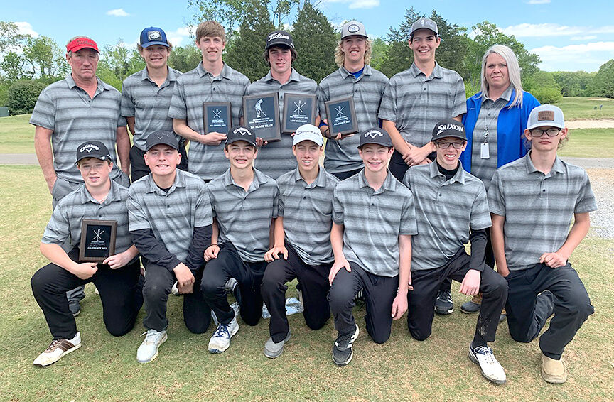 NSM Jackson County Boys Golf Champ