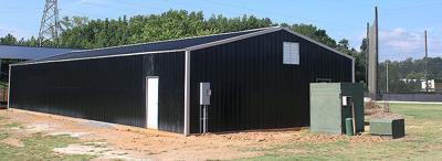 Scottsboro baseball indoor practice facility